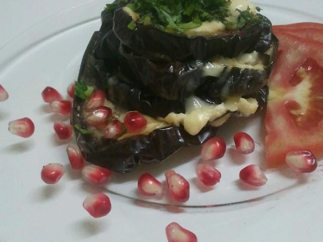 Баклажаны, запеченые с сыром